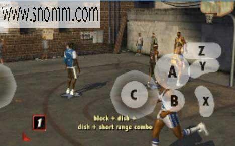 安卓模拟WII游戏之街头篮球2,有视频有教程